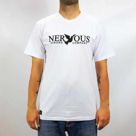KOSZULKA T-SHIRT NERVOUS CLASSIC WHITE