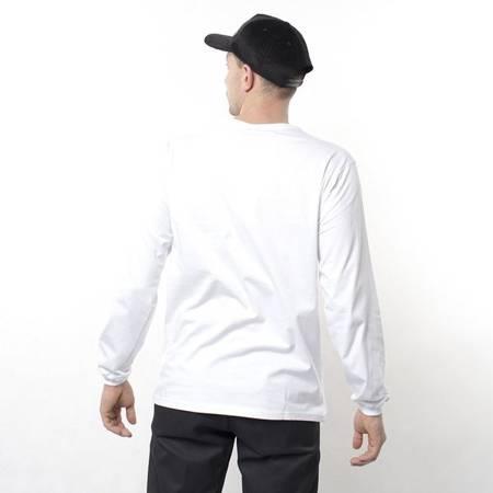 LONGSLEEVE NERVOUS WAVE WHITE