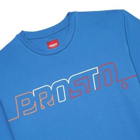 POSTCARD T-SHIRT LINE OUT NAVY