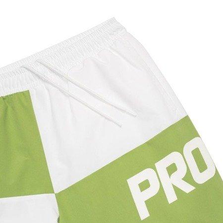 SHORTS CHES WHITE/LIGHT GREEN