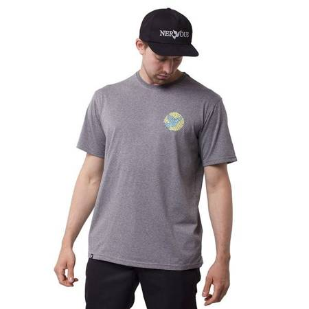 T-SHIRT NERVOUS RIBBONS GREY
